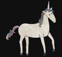 Unicorn Pattern on Pastel Purple One Piece - Long Sleeve