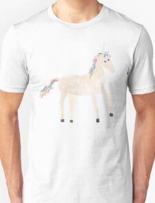 Unicorn Pattern on Pastel Purple Unisex T-Shirt