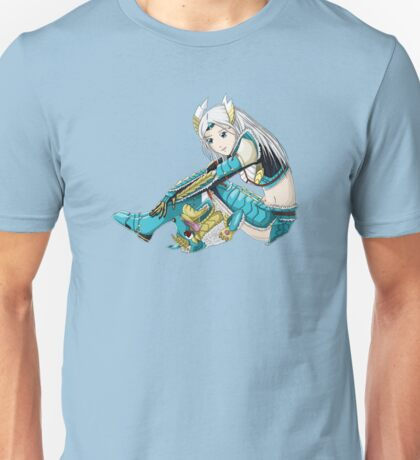 Hunter and pet Unisex T-Shirt