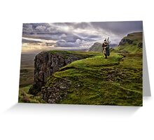 The Music of the Moor - Scotland Greeting Card