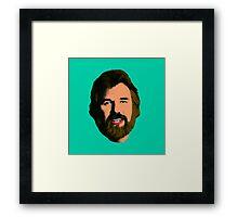 Turquoise Gambler Framed Print