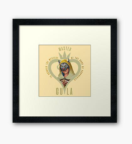 Master Gula Framed Print