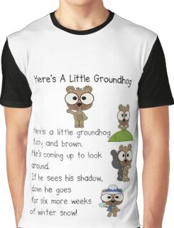 Groundhog Day In Canada Graphic T-Shirt