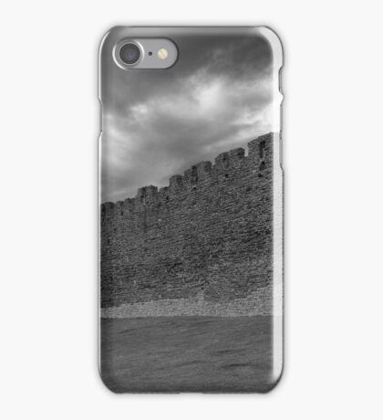 A storm approaches the walls iPhone Case/Skin