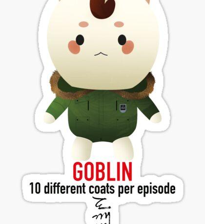 Goblin - 10 different coats Sticker
