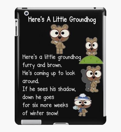 Happy Groundhog Day In Canada iPad Case/Skin