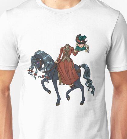 Dullahan Headless Horsewoman Rider MONSTER GIRLS Series I Unisex T-Shirt