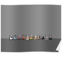 Daleks in Disguise Line Up Poster