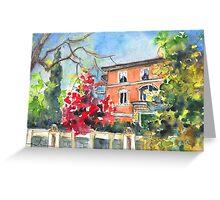 Bergamo Autumn 01 Greeting Card