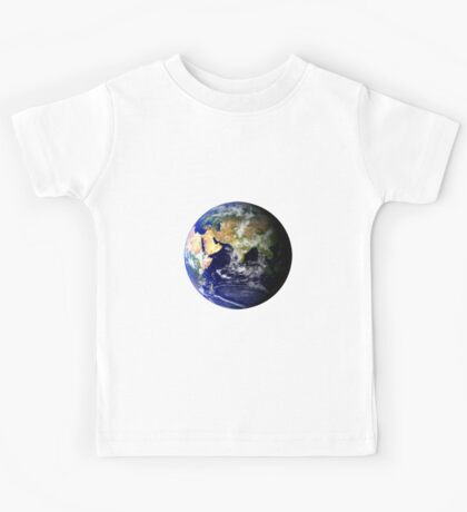 Earth Globe Kids Tee