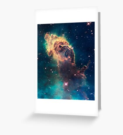 """Exclusive """" Space """" a 11 (c)(h) olao-olavia by okaio créations 2017 Greeting Card"""