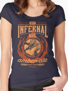 Infernal Nail Amber Ale | FFXIV Women's Fitted Scoop T-Shirt
