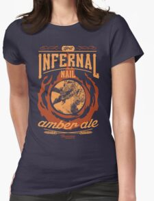 Infernal Nail Amber Ale | FFXIV Womens Fitted T-Shirt