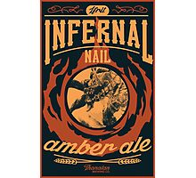 Infernal Nail Amber Ale | FFXIV Photographic Print