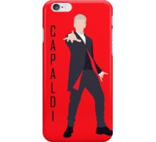 12th Doctor Peter Capaldi minimalist iPhone Case/Skin