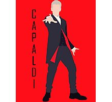 12th Doctor Peter Capaldi minimalist Photographic Print