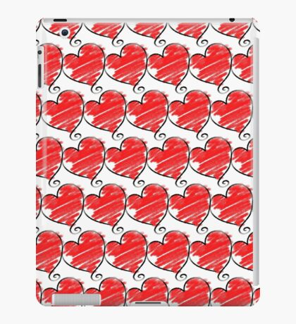 Wallpaper with heart 1 iPad Case/Skin
