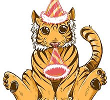 Birthday Tiger by SimplyKitt