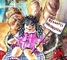 Halloween Party in A Bakery in Bergamo by Goodaboom