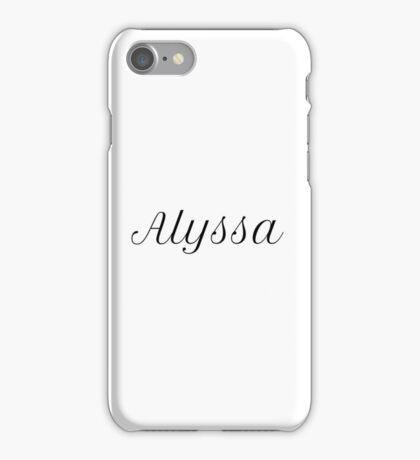Alyssa iPhone Case/Skin