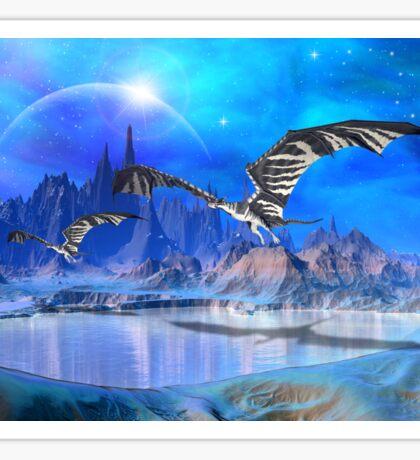 Fantasy Dragons Sticker