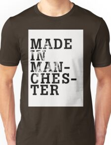 "Courteeners ""Made in Manchester"" Unisex T-Shirt"