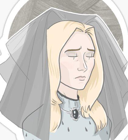 The Incredibly Sad Princess Sticker