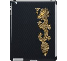 Gold Dragon Mustache shenlong iPad Case/Skin