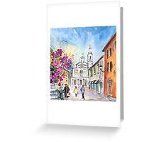 Bergamo Lower Town 01 Greeting Card