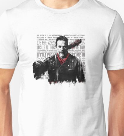 The Walking Dead - Negan quotes Unisex T-Shirt