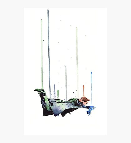 Sherlock Holmes: The Reichenbach Fall Photographic Print