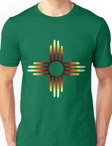 Zia Sun Fire Unisex T-Shirt