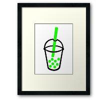 Bubble Tea Framed Print