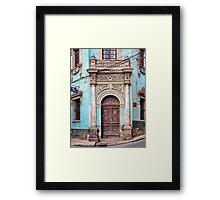 Doors of Bolivia - Elegant Framed Print