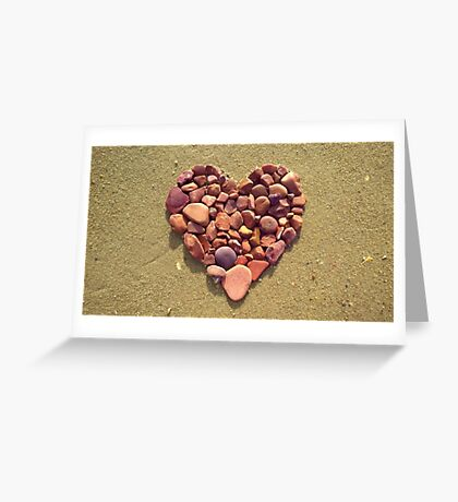 Love Rocks! V Greeting Card