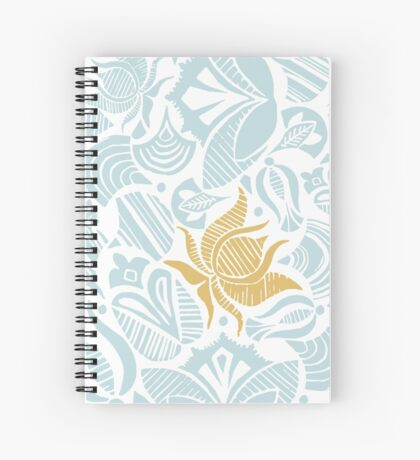 Heavenly lovely flowers Spiral Notebook