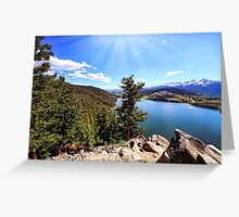 Sapphire Point Wedding Day Greeting Card