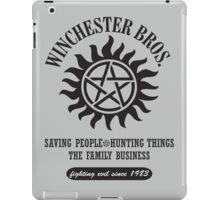 SUPERNATURAL - WINCHESTER BROTHERS iPad Case/Skin
