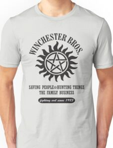 SUPERNATURAL - WINCHESTER BROTHERS Unisex T-Shirt