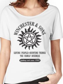 T-SHIRT SUPERNATURAL WINCHESTER & SONS Women's Relaxed Fit T-Shirt