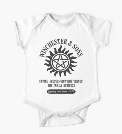 T-SHIRT SUPERNATURAL WINCHESTER & SONS One Piece - Short Sleeve