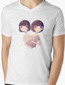 Sisters Mens V-Neck T-Shirt
