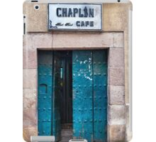Doors of Bolivia - The Chaplin Cafe iPad Case/Skin