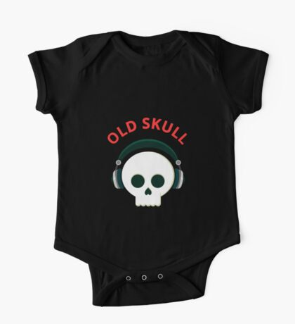 OLD SKULL One Piece - Short Sleeve
