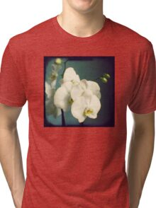 White orchids Tri-blend T-Shirt