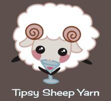 Tipsy Sheep Yarn! Baby Tee