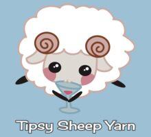 Tipsy Sheep Yarn! Kids Tee