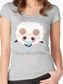 Tipsy Sheep Yarn! Women's Fitted Scoop T-Shirt