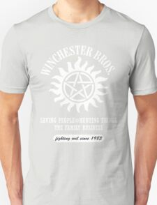 SUPERNATURAL - WINCHESTER BROTHERS SINCE 1983 Unisex T-Shirt