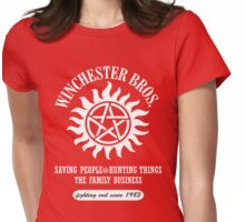 SUPERNATURAL - WINCHESTER BROTHERS SINCE 1983 Womens Fitted T-Shirt